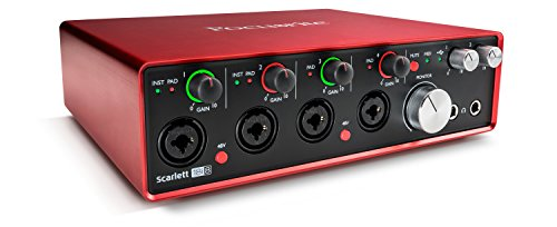 Focusrite Scarlett 18i8 (2nd Gen) USB Audio Interface with Pro Tools | First