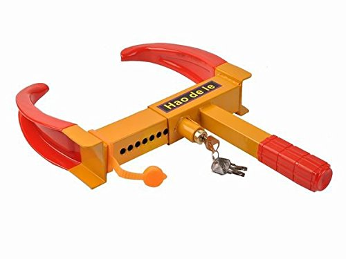 Safstar Wheel Lock Clamp Boot Tire Claw Trailer Auto Car Truck Anti-Theft Towing