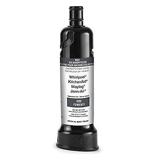 Whirlpool ICE2 Ice Maker Water Filter For 50 Pound Ice Machines - Whirlpool OEM Part No. F2WC9I1, Replaces Parts: W10565350, W10480323