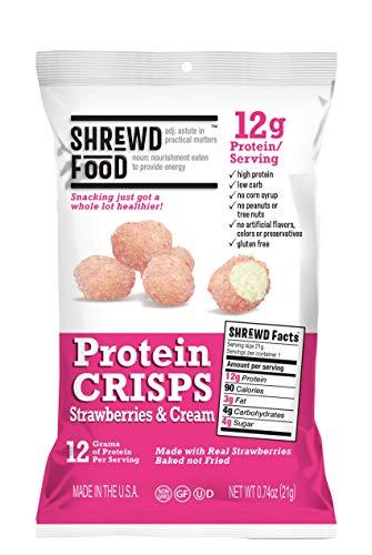 Shrewd Food Strawberries and Cream Protein Crisps...