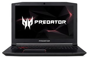 Acer Predator Helios 300 Gaming Laptop, 15.6' Full HD IPS Display w/ 144Hz Refresh Rate, Intel 6-Core i7-8750H, GeForce GTX 1060 6GB Overclockable Graphics, 16GB DDR4, 256GB NVMe SSD, PH315-51-78NP