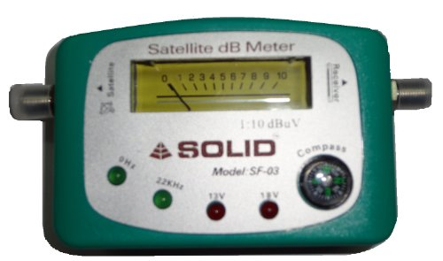 SOLID SF-90 Analogue Satellite dB Meter 15