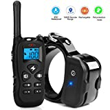 Kungber Dog Training Collar, Rechargeable Dog Shock Collar with Remote,Up to 1800Ft Range,with Beep/Vibration/Electric Shock/Light Modes,100% Waterproof Safe for Small Medium Large Dogs (Black)