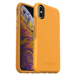 OtterBox SYMMETRY SERIES Case for iPhone Xs & iPhone X - Retail Packaging - ASPEN GLEAM (CITRUS/SUNFLOWER)