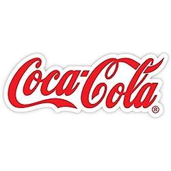 "Coca-Cola Enjoy Coca Cola fine soda icon emblem sticker decal 8"" X 3"""