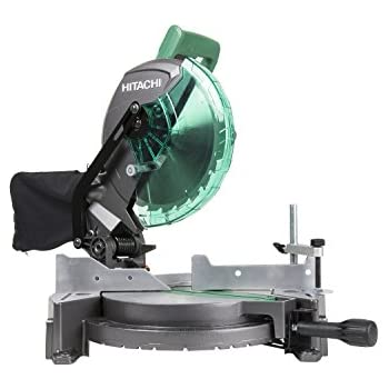 Hitachi C10fcg 15 Amp 10 Single Bevel Compound Miter Saw