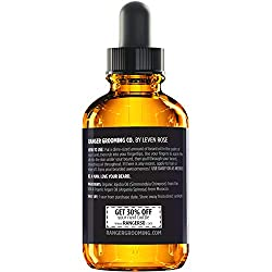 Fragrance Free Beard Oil & Leave in Conditioner, 100% Pure Natural for Groomed Beards, Mustaches, and Moisturized Skin 1 oz by Ranger Grooming Co by Leven Rose (Beard Oil)  Image 3
