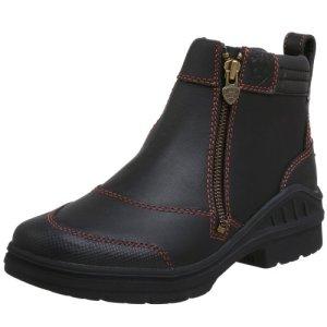 Ariat Barnyard Side Zip Work Boot – Women's Comfortable Waterproof Boots