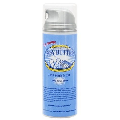 Boy Butter Personal Lubricant – E-Z Pump – 5 oz.