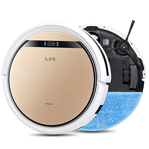 ILIFE-V5s-Pro-2-in-1-MoppingRobot-Vacuum-Slim-Automatic-Self-Charging-Robotic-Vacuum-Daily-Schedule-Ideal-for-Pet-Hair-Hard-Floor-and-Low-Pile-Carpet