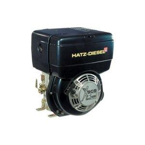 Hatz Diesel Engine with Electric Start – 10 HP, 1in. x 2.84in. Shaft, Model# 1B40-9929