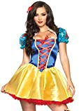Leg Avenue Women's Fairytale Snow White, Multi, X-Small