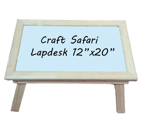 Craft Safari - Laptop Study Table Desk 12x20 Portable, Compact and East to Carry. 97