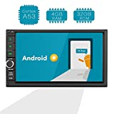 Amaseaudio Android 8.0 Upgrade Octa Core 4GB Ram 32GB ROM Double 2 Din in Dash Car Stereo Radio Multimedia Navigation Receiver Head Units Without DVD CD