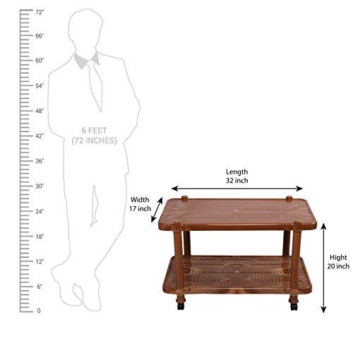 Cello Oscar Dining Table (Sandalwood Brown) 4