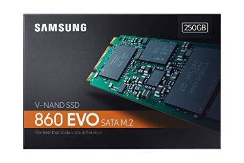 Samsung 860 EVO 250GB SATA M.2 (2280) Internal Solid State Drive (SSD) (MZ-N6E250) 11