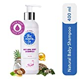The Moms Co. Tear-Free Natural Baby Shampoo | 100% Natural | Australia-Certified Toxin-Free | with Organic Argan and Moringa Seed Oils (400 ml)