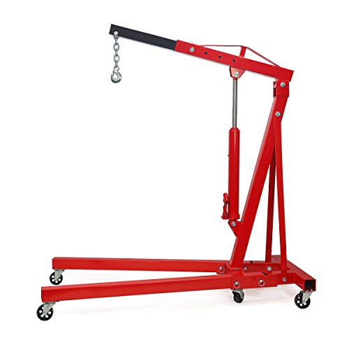 2 Ton Capacity Folding Cherry Picker Foldable Engine Hoist