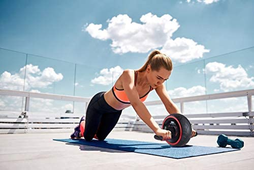 BK Sports Ab Roller Wheel for Abs Workout – Ab Roller Wheel Abdominal Exercise Equipment – Train at Home Like a Professional 2020 New 10