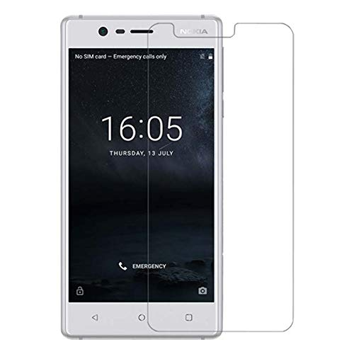 Cassby Anti Explosion Tempered Glass for Nokia 3,9H Hardness,2.5d D, Ultra Clear, Anti Scratch Free Anti Finger Print 1