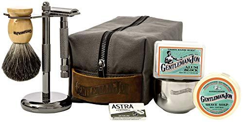 Gentleman Jon Deluxe Wet Shave Kit |...