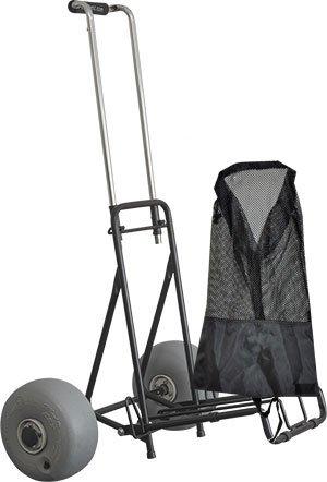 Wheeleez Mini Folding Beach Cart Review