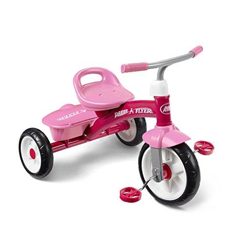 Radio Flyer 421PZ Rider Trike Ride On, Pink (Amazon Exclusive)