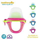 teetherpop - Fillable, Freezable Baby Teething Pops for Purees, Smoothies, Juices, Breast Milk & More (Baby Teether is USA Made & BPA Free) - Single Pack