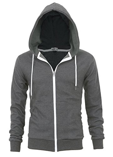 """""""DELIGHT"""" Men's Fashion Fit Full-zip HOODIE with Inner Cell Phone Pocket 15 Fashion Online Shop gifts for her gifts for him womens full figure"""