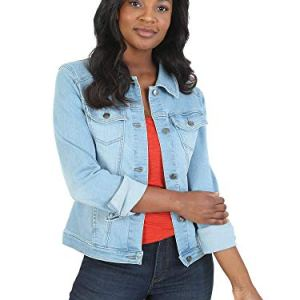 Riders by Lee Indigo Women's Stretch Denim Jacket 3 Fashion Online Shop Gifts for her Gifts for him womens full figure