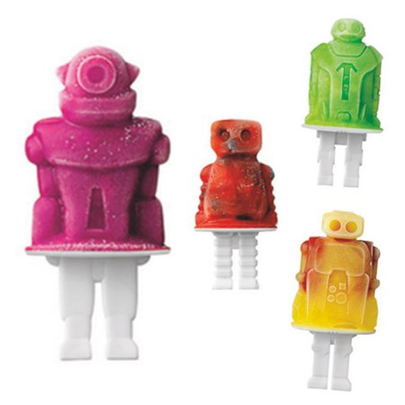 Tovolo Robot Pop Molds - Set of 4