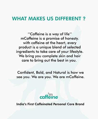 41gTwKpdpzL mCaffeine Naked & Raw Coffee Body Scrub, 100 g | Coconut | Tan Removal | Oily/Normal Skin | Paraben & SLS Free