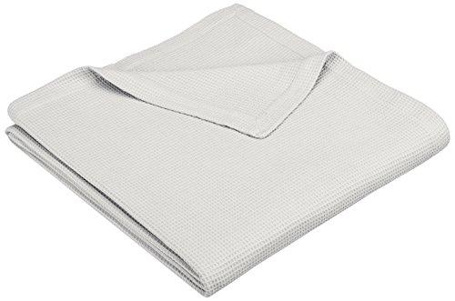Pinzon Cotton Waffle Weave Blanket - Full/Queen, Soft Grey
