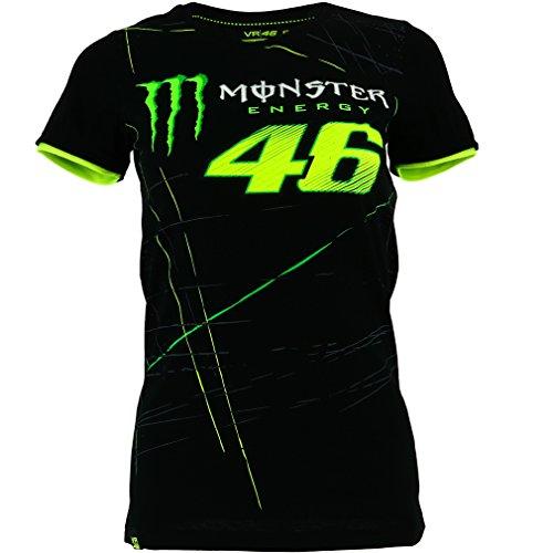 Valentino Rossi Vr46 Moto Gp Monster Energy Monza Women S T Shirt Official 2017
