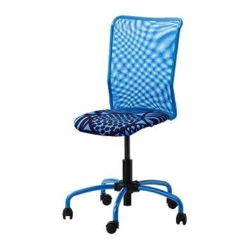 Ikea Torbjorn Swivel Chair Blue