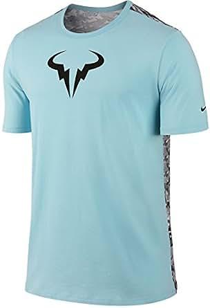 Amazon.com: Nike Rafael Nadal Rafa Bull Logo Camo Back ...