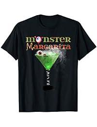 Monster Margarita Tee Shirt Halloween Tees