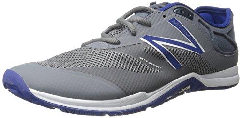 New Balance Men's 20v5 Minimus Training Shoe, Grey/Blue, 8 D US