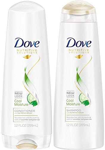 Dove Damage Therapy Cool Moisture Shampoo (12 oz) and Conditioner (12 oz)