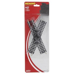 Mehano F228 Replacement Track Straight – Crossing 45, Mehrfarbig 41grlQjNiML