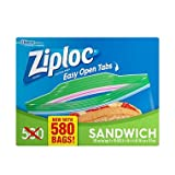 Ziploc Sandwich Bags, 500 Count