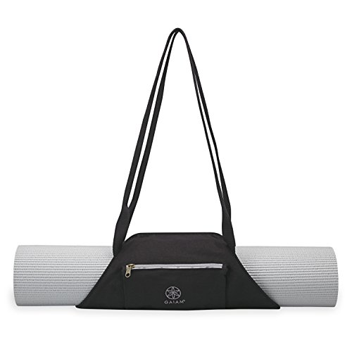 Gaiam On-The-Go Yoga Mat Carrier, Granite Storm