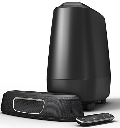 Polk Audio MagniFi Mini Home Theater Surround Sound Bar – The Compact System with Big Sound, Wireless Subwoofer Included