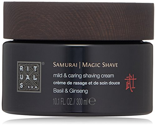 Enriched with Basil and Ginseng for shaving and moisturizing the skin. For a perfect shave, leaving a calm and moisturized skin. This rich cream provides extra protection and care of the skin during and after shaving.
