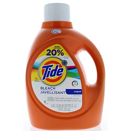 Tide Plus Bleach Alternative High Efficiency Liquid Laundry Detergent 74 Loads