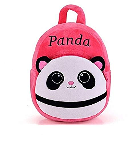 41h7OOSJxnL - Black Hill Cute Kids Backpack Toddler Bag Plush Animal Cartoon Mini Travel Bag for Baby Girl Boy 1-6 Years (Pink-Panda)