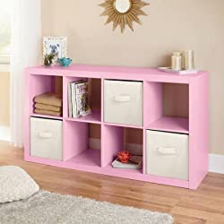 Better Homes and Gardens 8-Cube Organizer, Creates multiple storage solutions