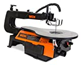 WEN 3920 16-Inch Two-Direction Variable Speed Scroll Saw with Flexible LED Light