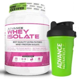 Advance Nutratech Whey Isolate 90%- 1 Kg (Rich Chocolate)   Free Shaker  Protein Powder supplement   for men women   lean muscle   trial traveler refill pack with digestive enzymes keto beginners