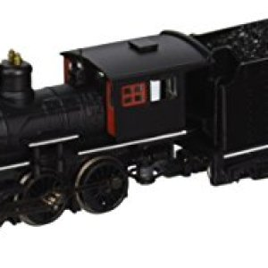 Bachmann Industries Painted, Unlettered – Black with Red Windows and White Stripes 41hJC9GchIL